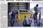 FIU unveils Wall of Wind simulator Miami Herald Coverage