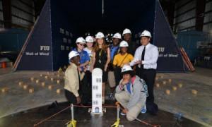Miami-Dade High School Students Test Wind Challenge Designs