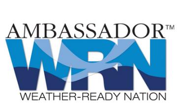 NOAA designates IHRC as Weather-Ready Nation Ambassador